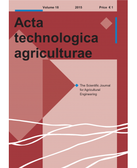Acta Technologica Agriculturae