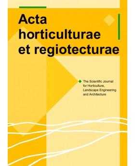 Acta Horticulturae et...
