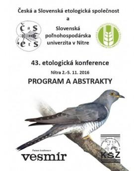 43. etologická konference
