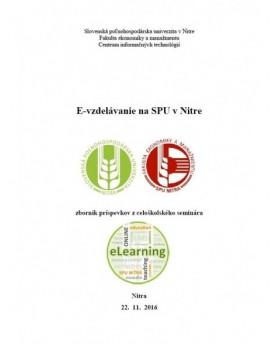 E-vzdelávanie na SPU v Nitre