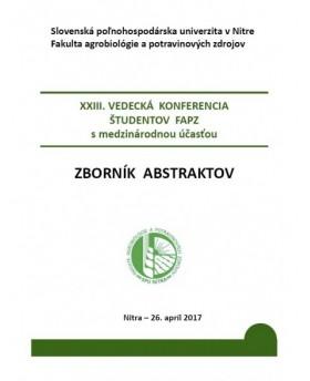 XXIII. vedecká konferencia...