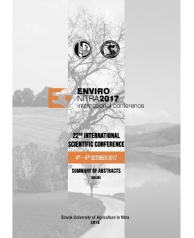 ENVIRO Nitra 2017 - International Scientific Conference