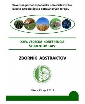XXIV. Vedecká konferencia...