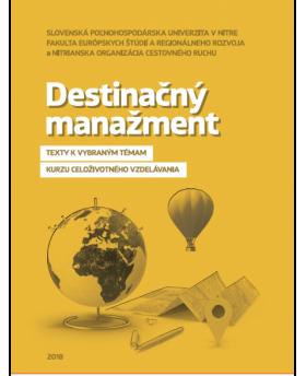 Destinačný manažment -...