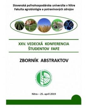XXV. Vedecká konferencia...