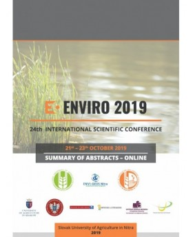ENVIRO Nitra 2019 - 24-th International Scientific Conference - Summary of Scientific Abstracts